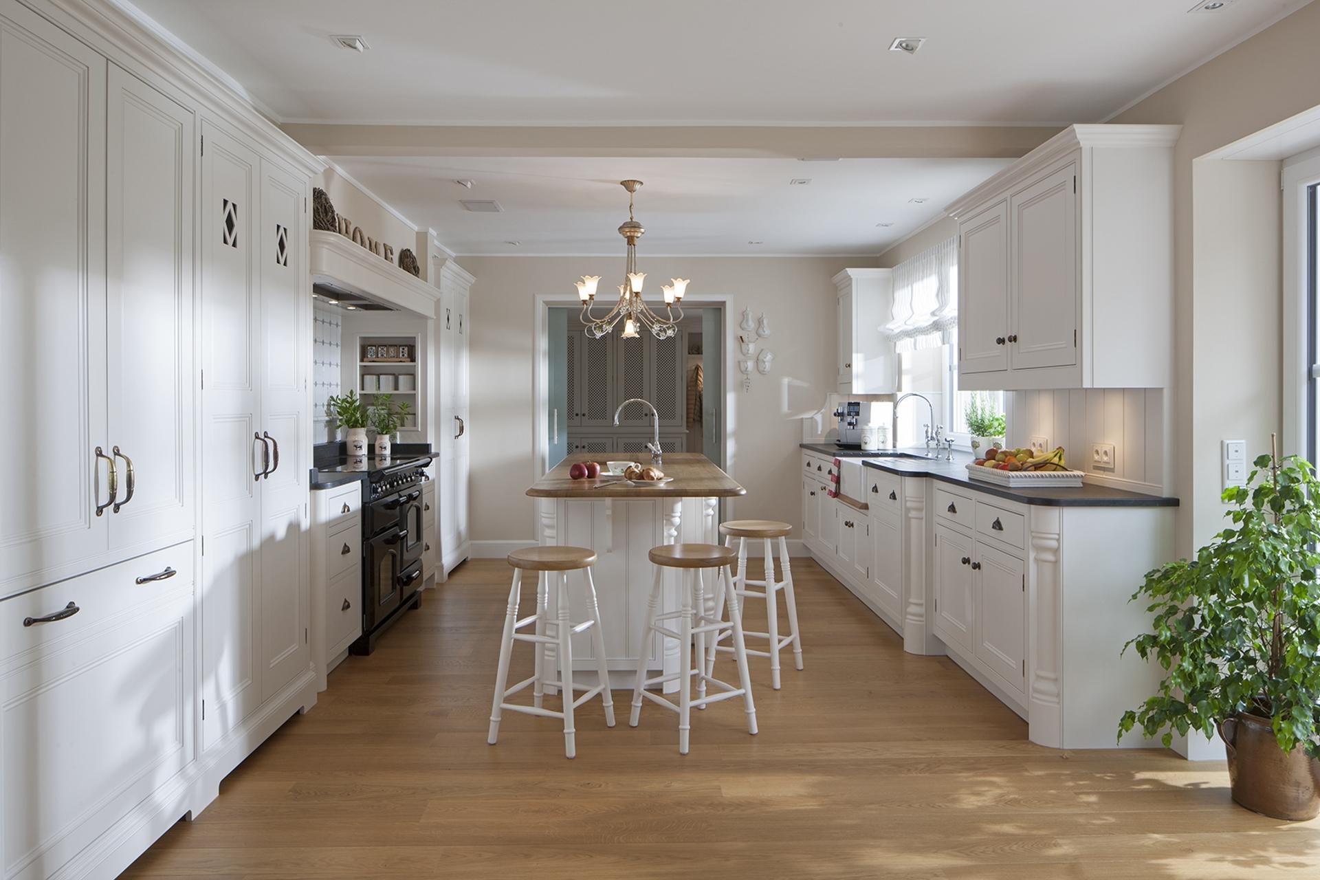 kuche cottage stil. Black Bedroom Furniture Sets. Home Design Ideas